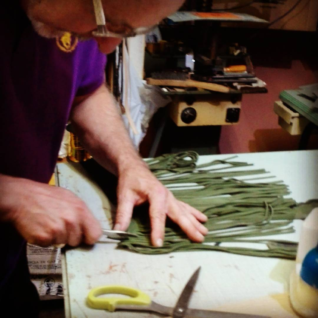 Jerry at work. #handmade